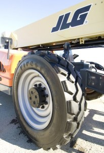 Firestones new Duraforce Telehandler tire