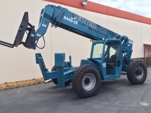 Ready to work , this recently reconditioned Gradall 544D reach forklift looks great.