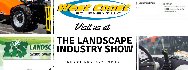 Meet Us at Landscaping Industry Trade Show, 2019 - West
