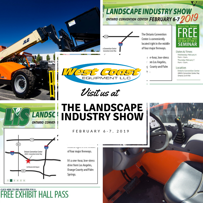 Meet Us at Landscaping Industry Trade Show, 2019