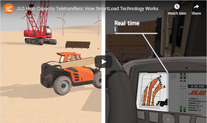 Get Real-Time Load Data on All JLG Telehandlers