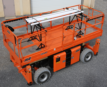 Transport MORE with JLG Material Racks