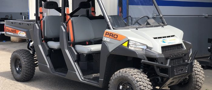 Polaris XD at West Coast Equipment