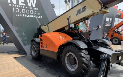 Coming Soon to WCE: JLG's new 10,000-pound class, 8-Story Telehandler